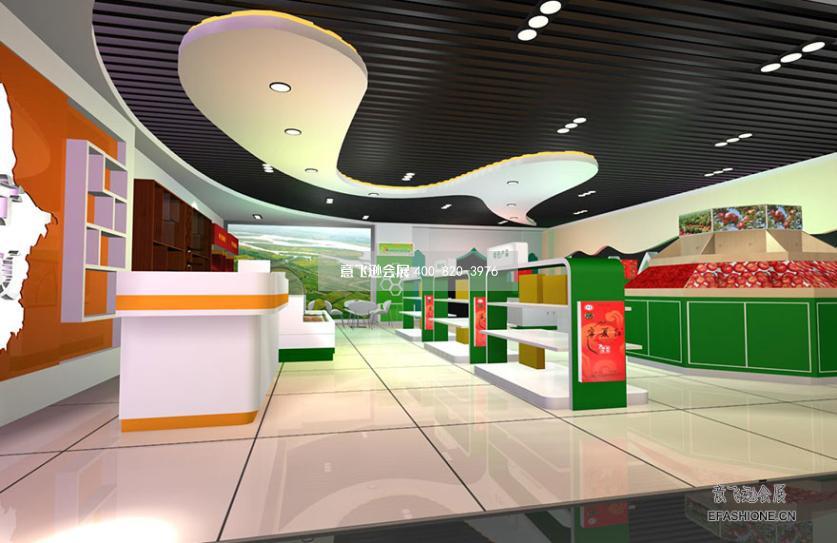 农产品展览会宁夏农牧厅展厅设计装修图片