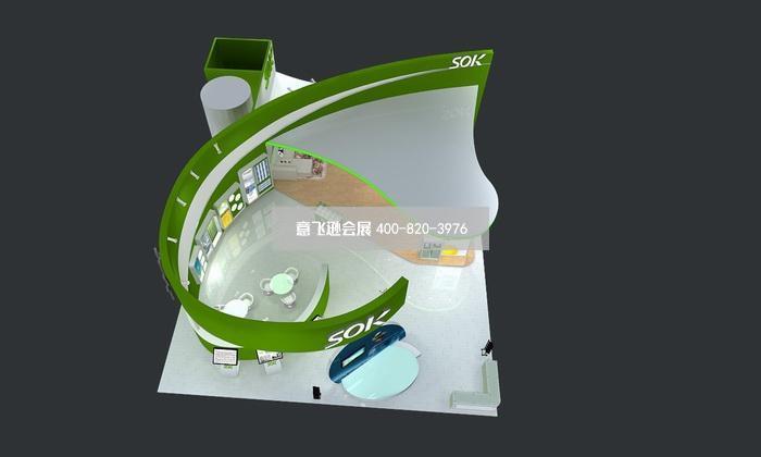 家电展展台设计,锦力电器家电展台设计效果图